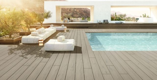 Outdoor Flooring Terrace - Deceuninck